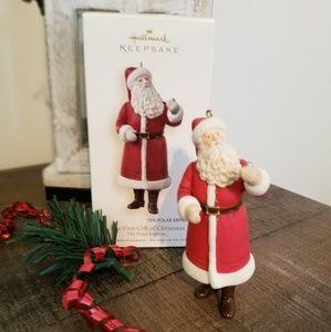 The Polar Express Santa ornament
